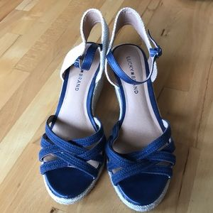 Lucky Brand Wedges size 8